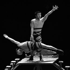 Chinese Acrobats, Performing in Beijing