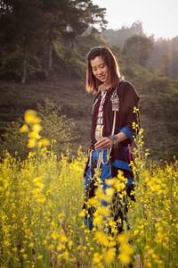 Black Dao lady in Lai Chau Province
