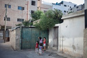 Balata Refugee Camp, West Bank.