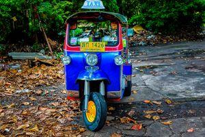 Bangkok's iconic Tuk-Tuk Taxi
