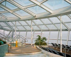 Indoor solarium prior to departure