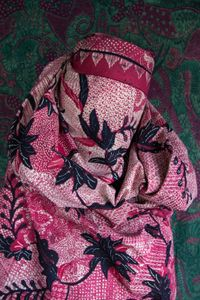 Batik II, from the series People of Pattern by Alia Ali