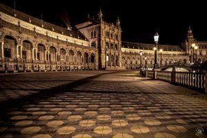 Plaza de España - La llegada