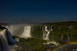 Kite Aerial photography on Iguazu falls