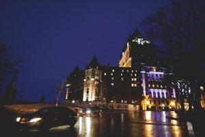Quebec Night Rain #6