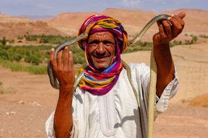 The Moroccan Snake Charmer