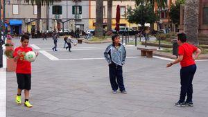Street football, Italy  09