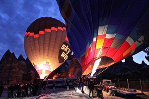 volando in Cappadocia