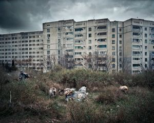 "Ukraine 2008. From the series ""Black Sea of Concrete""."