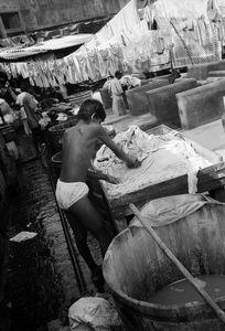 © 2014, Stephen Shames — India. Laundry.