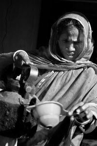 Bangladesh Tea Server