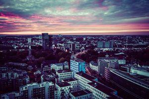 Hamburger City Sunset