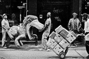 Lion Tamers, New York City, 2008