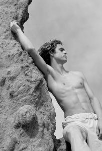 A Greek god