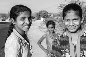 On the road to Siana, India