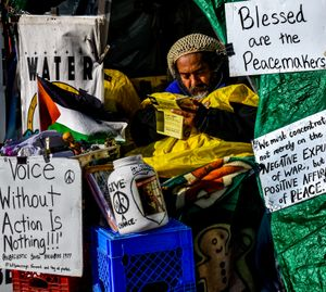 Protestor Seeking A Job