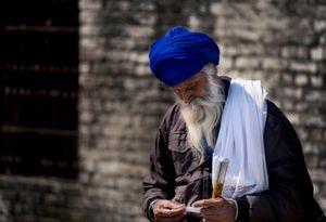 Beau Sikh a la fete Hola Moalla 2019