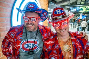 Pierre-Luc & Peter - Montreal Canadiens Fanatics, Bell Centre Arena, Montreal 2018