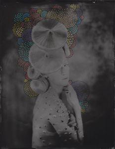 © Zelko Nedic, Madam V                 8x10 Tintype, Hand Coloured