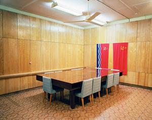Latvia, Ligatne. Underground Soviet nuclear bunker for the regional government.