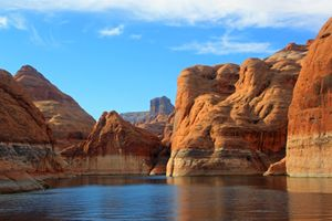 Lake Powell Canyons in Arizona