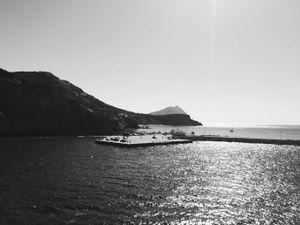 'Arrival at Anafi', Anafi, the Cyclades, 2016