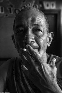 Fumeur à La Havane