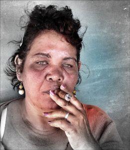 Woman With Cigar, Cuba