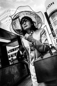 The Lady and the Hat on Ginza - Tokyo, 2017