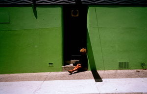 Two green walls, 2006