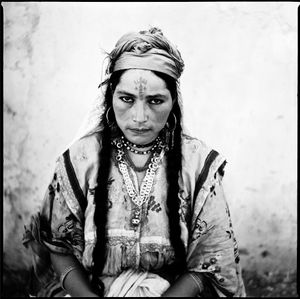 Portrait of an Algerian Woman, taken by order of the French Army towards the end of the Algerian War of Independence, 1960 © Marc Garanger