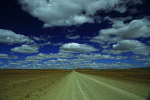 Big sky / Wide space and big sky in the Great Karoo.