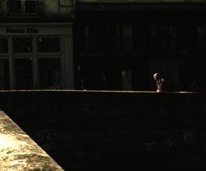 Walking along the Seine