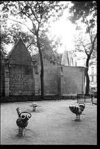 Saint Severin, October 5, 1997,  © Christopher Rauschenberg.