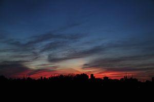Scarborough sunset
