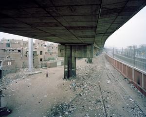 Underneath the Sixth of October Bridge, Al Hadaek, Hadaeq Al Qubbah, Cairo Governorate, 2009
