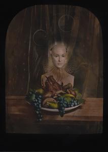 © Zelko Nedic, The Dinner                5x7 Tintype, Hand Coloured