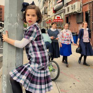 Street Dailies: Portraits of the Hasidic Community, Flushing Avenue, 2016