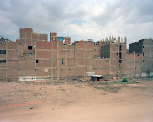 Al-Maryutiya Road from the Ring Road, Saft al-Laban, Imbaba, Giza Governorate, 2011