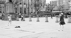 Trafalgar Square, London, England 1982