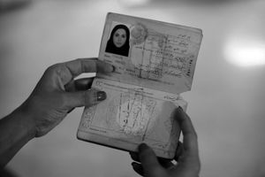 © Nafise Motlaq - Kosar's Iranian expired passport shows her personal details; she was born in 1984 in a small city in south west Iran by the Persian Gulf.