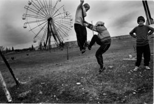 playground in Argun, Chechnya