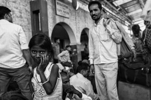 IMPRESSIONS AT THE OLD DELHI RAILWAY STATION 15