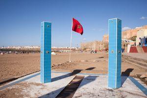 Showers, Plage de Rabat