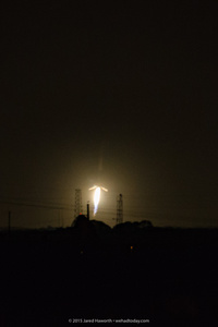 Falcon 9, Seconds from Landing