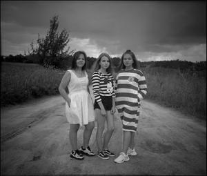 Girls from outskirts. Russia, Bryansk reg., 2018