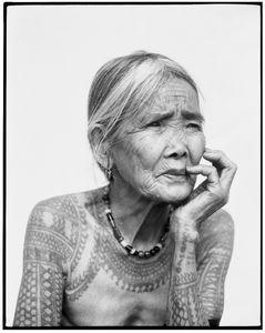 The last tattoed Kalinga woman, 2011 © Jake Verzosa