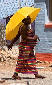 Yellow Umbrella Covers 2