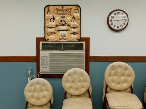 """Naval Base Fellowship Room from """"If The Light Goes Out: Home from Guantanamo"""" © Edmund Clark"""