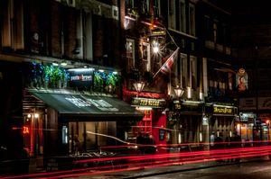 Red Streaks In London